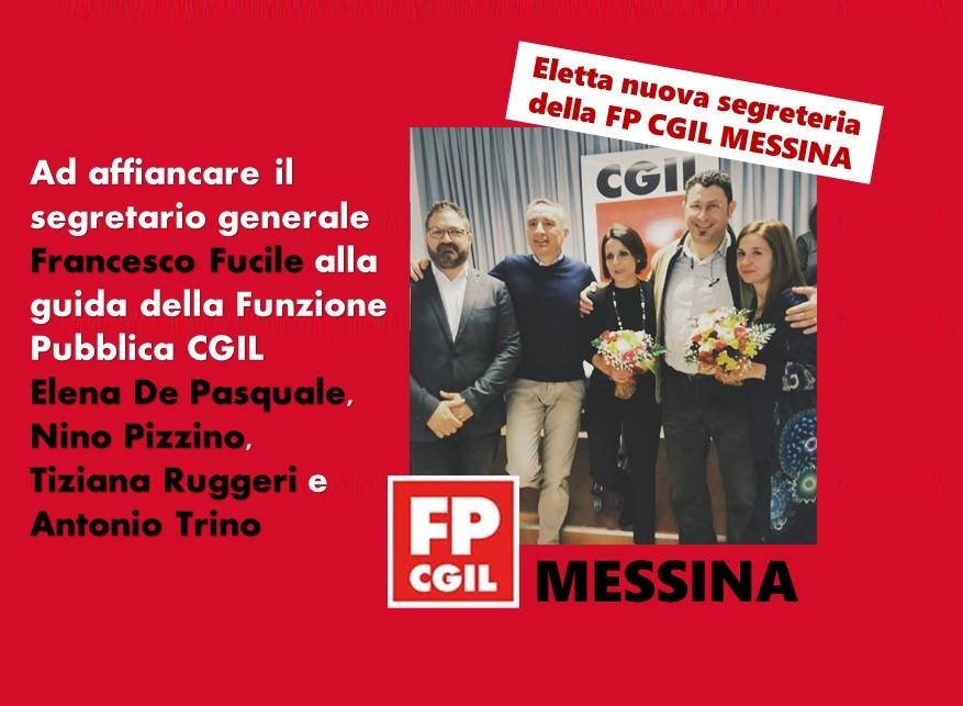 Eletta la nuova segreteria della FP CGIL di Messina. Per la segretaria nazionale della Funzione Pubblica Serena Sorrentino «la parola d'ordine è collegialità»