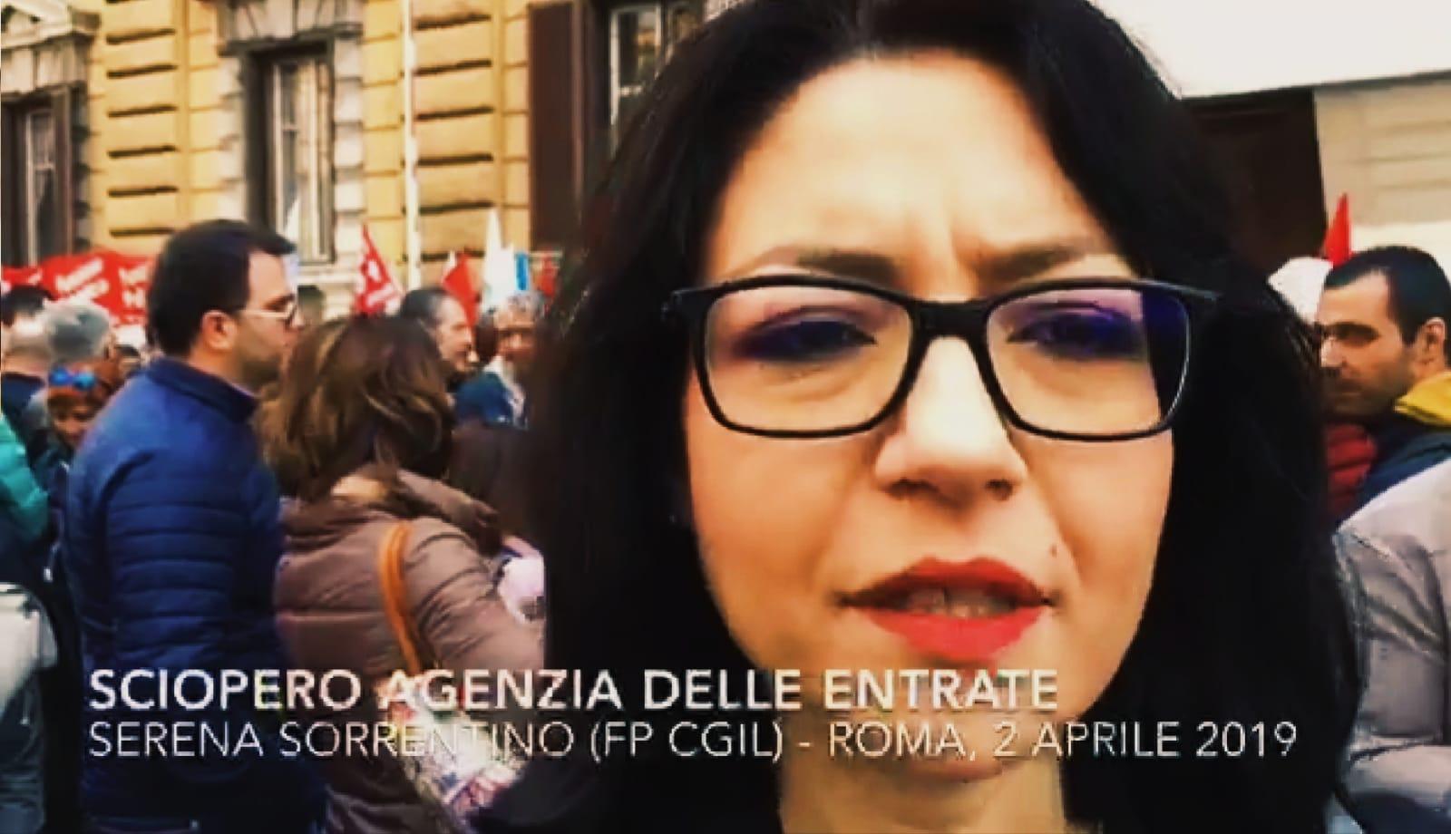 VIDEO, SCIOPERO NAZIONALE: intervista a Serena Sorrentino