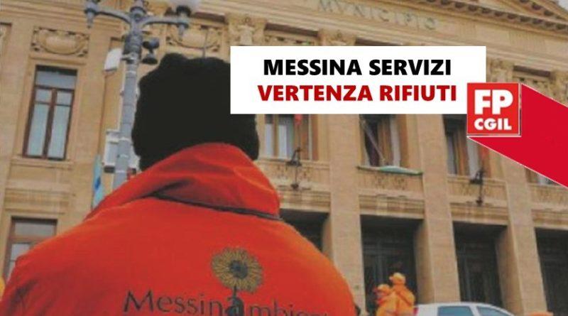 """Messina Servizi, la FP CGIL manifesta forti perplessità sulla gestione della """"vertenza rifiuti"""" da parte l'Amministrazione Comunale e lancia un appello al Consiglio: «Necessario fare tutto il possibile per scongiurare la privatizzazione del settore»"""