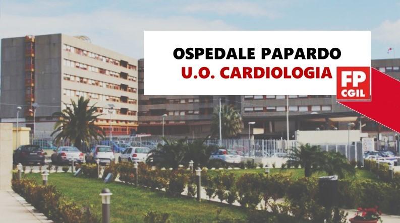Ospedale Papardo, Carenza organizzativa U.O. Cardiologia