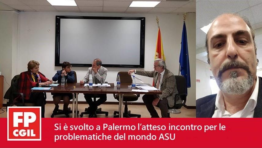 Palermo, svoltosi atteso incontro per le problematiche ASU