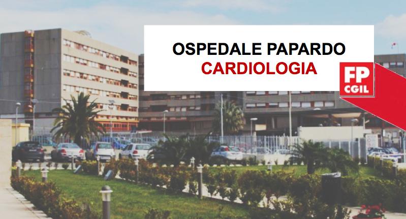 Ospedale Papardo, criticità reparto Cardiologia