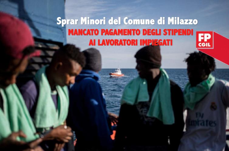 Sprar minori del Comune di Milazzo gestito dalla cooperativa Utopia, mancato pagamento degli stipendi ai lavoratori impiegati
