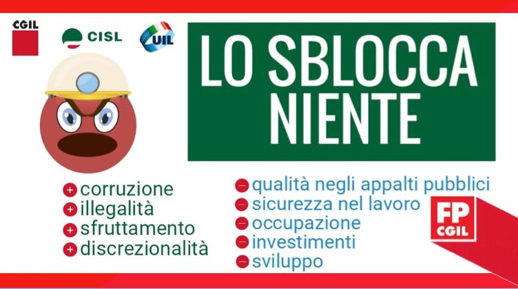 """Lo sblocca niente"", Decreto legge 18 aprile 2019 n.32 ""sblocca cantieri"""
