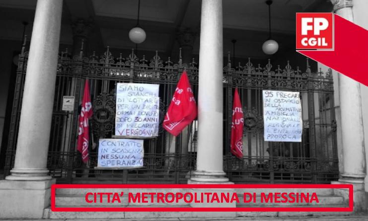 Precari Città Metropolitana: sconcerto e confusione nel personale interessato