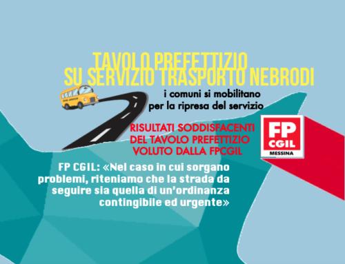 Tavolo prefettizio su servizio trasporto Nebrodi, i comuni si mobilitano per la ripresa del servizio. FP CGIL: «Nel caso in cui sorgano problemi, riteniamo che la strada da seguire sia quella di un'ordinanza contingibile ed urgente»