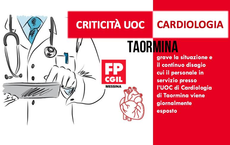 Criticità UOC Cardiologia Taormina