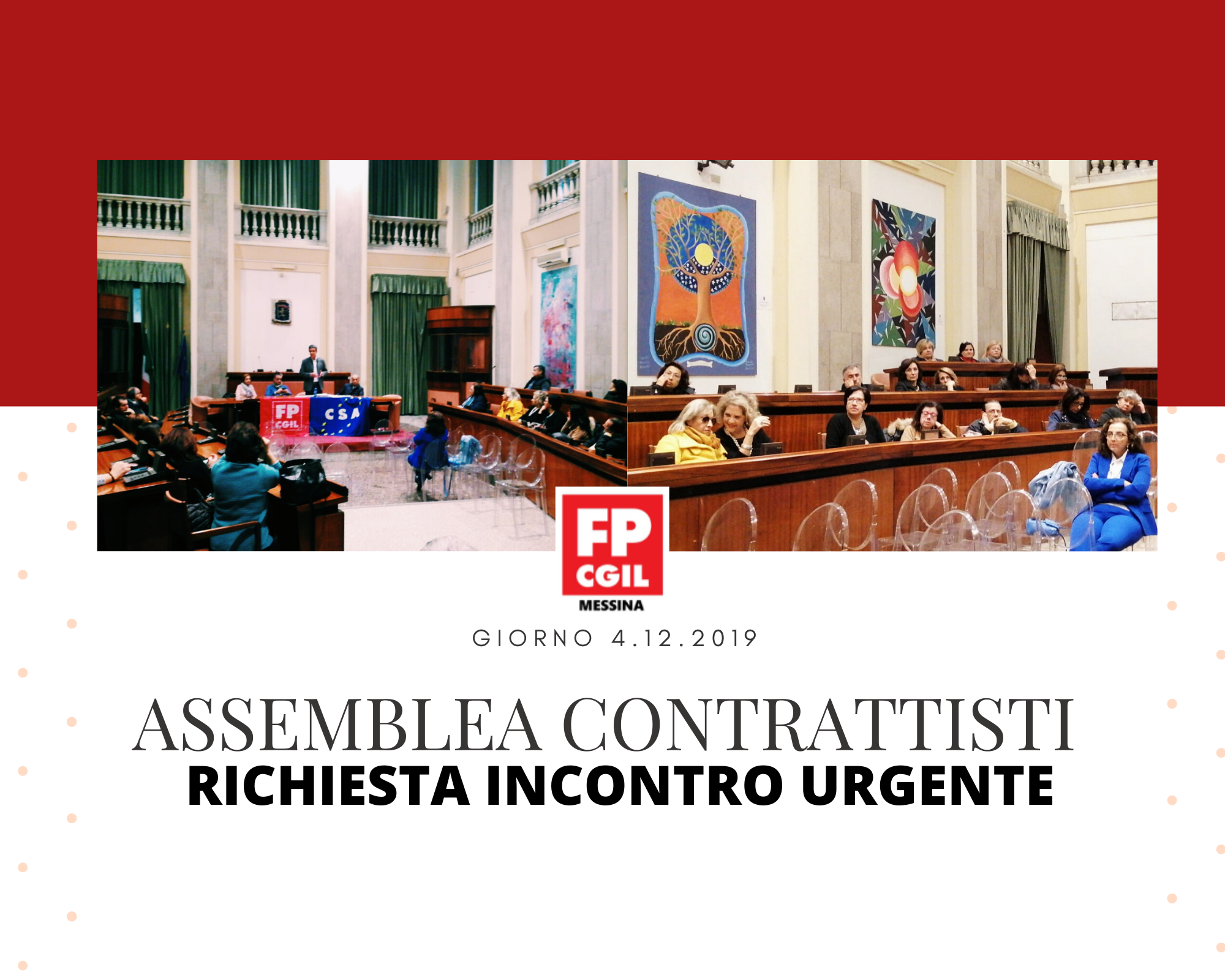 ASSEMBLEA CONTRATTISTI DEL GIORNO 4.12.2019