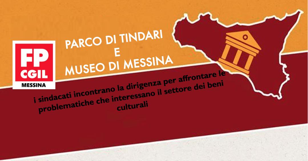 Parco di Tindari e Museo di Messina, i sindacati incontrano la dirigenza per affrontare le problematiche che interessano il settore dei beni culturali