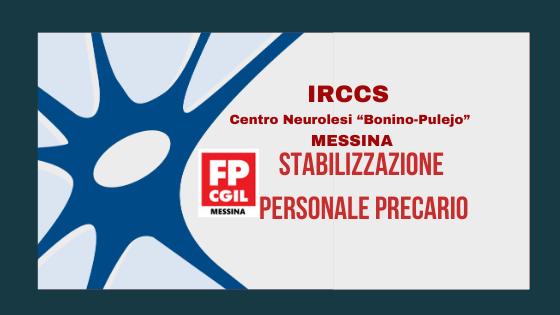 IRCCS –  Stabilizzazione personale precario
