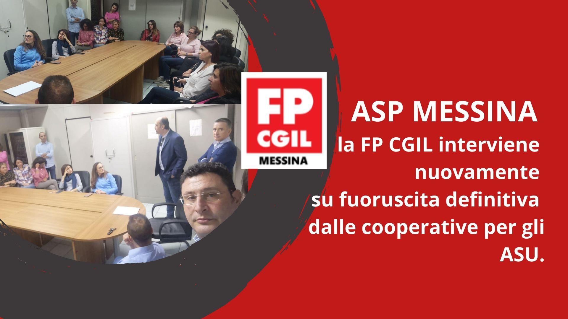 Revoca del protocolli d'intesa ed utilizzo diretto personale ASU presso ASP Messina.