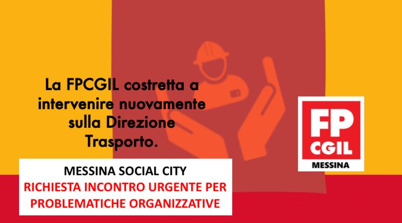 Messina Social City – Richiesta incontro URGENTE per problematiche organizzative