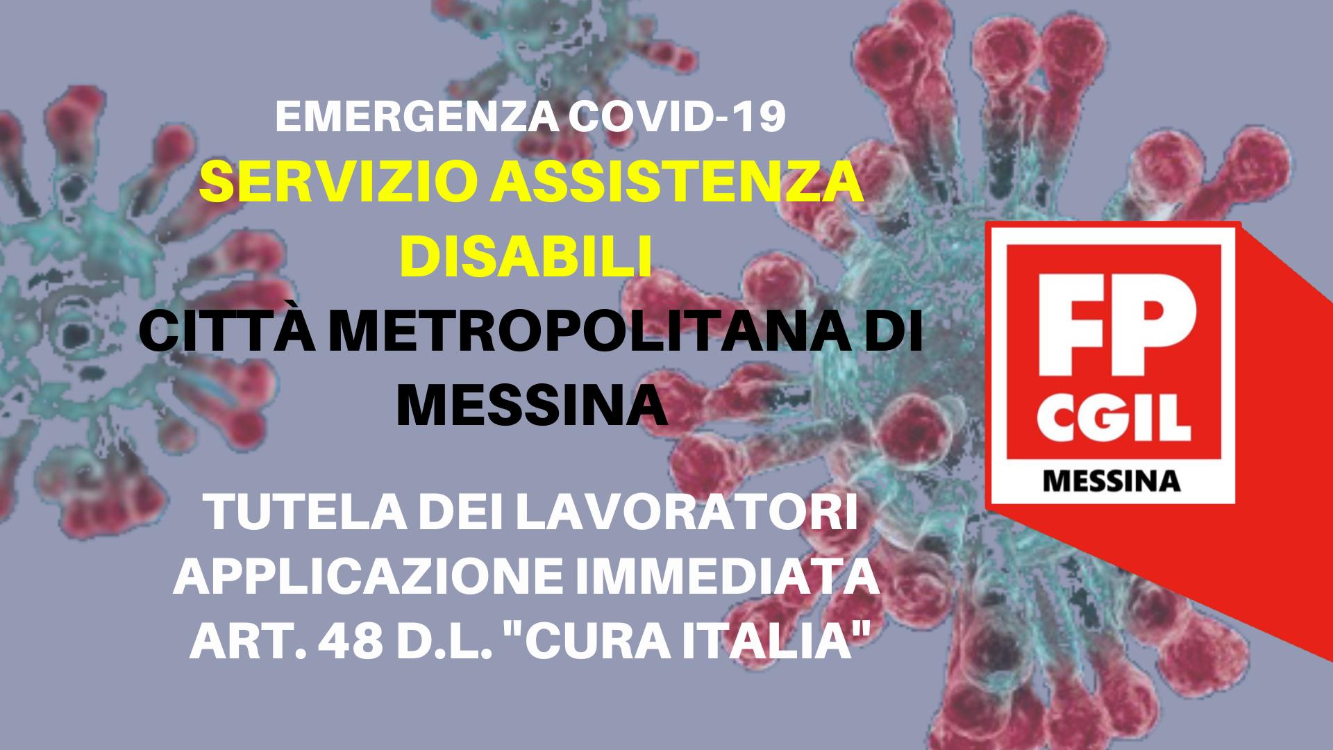 Città metropolitana – Emergenza COVID 19.