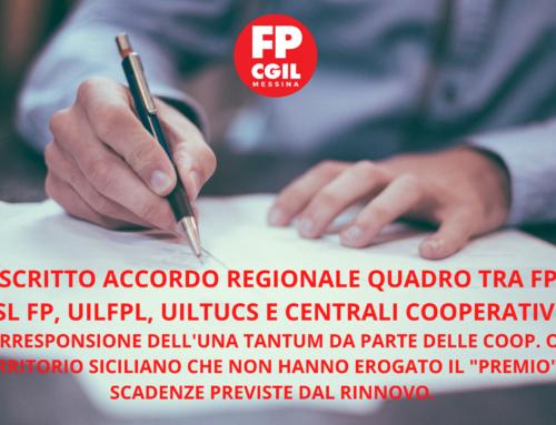 Ipotesi di accordo Regionale sul CCNL 2017-2019 COOPERATIVE SOCIALI