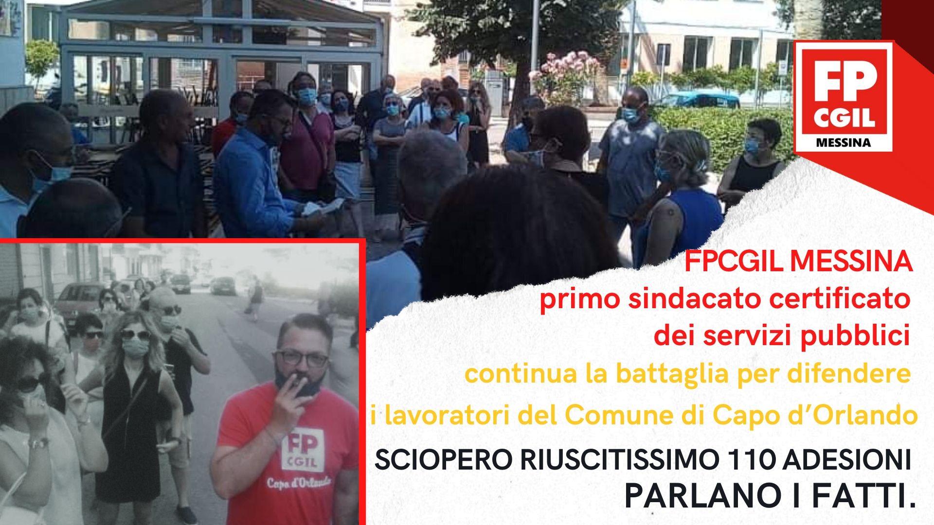 FP CGIL Capo D'Orlando – Sciopero