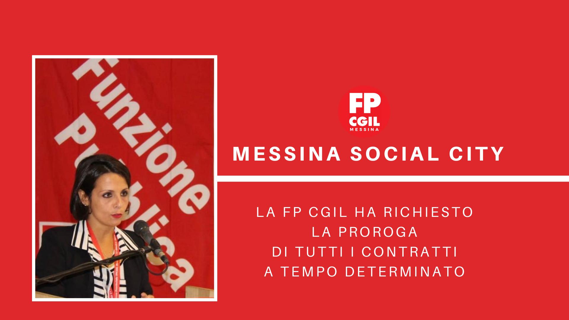 Messina Social City – proroga contratti a tempo determinato ai sensi dell'art. 8 del DL 104/2020