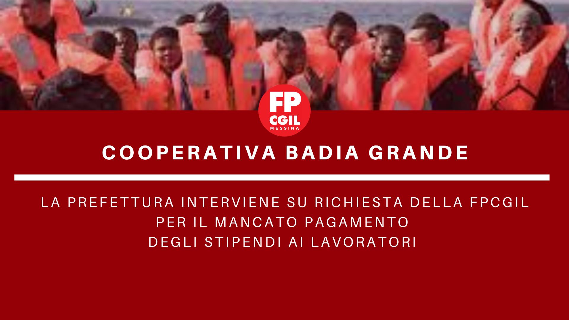 Mancato pagamento lavoratori impiegati presso il CPSA e il CAS Gasparro
