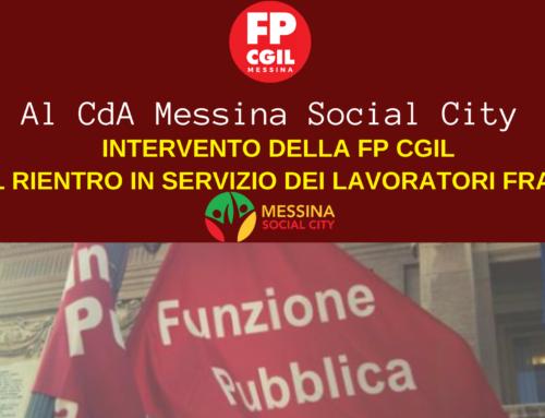 Al CdA Messina Social City – Lavoratori fragili. Applicazione art.74 e 83 DL 34/2020 e Decreto 83/2020.