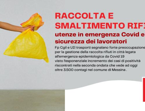 Raccolta e smaltimento rifiuti – utenze in emergenza Covid e sicurezza dei lavoratori