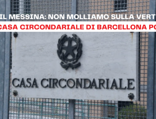 Barcellona PG – Questione protocollo sulla gestione dei Detenuti con problemi di salute mentale.