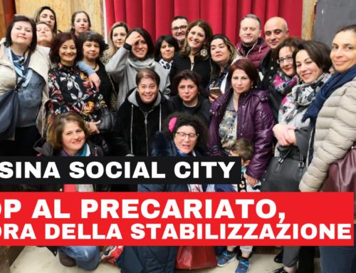 Messina Social City – Diffida e messa in mora per mancata integrazione oraria e stabilizzazione del personale a tempo determinato