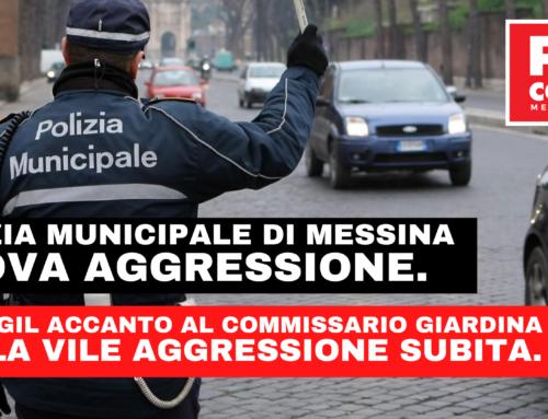 Aggressione Commissario Giardina, solidarietà della FP-CGIL «Attacco violento ed ingiustificato»