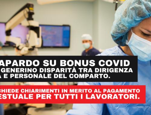 A.O. Papardo – pagamento bonus Covid.
