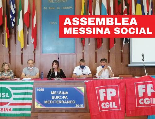 Assemblea Messina Social City, FP CGIL: «È tempo di dare risposte ai lavoratori, perché la MSC non può essere gestita alla stregua di una grande cooperativa»