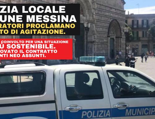Richiesta immediata ricontrattualizzazione Agenti di P.M. assunti con contratto a tempo determinato e problematiche irrisolte del Corpo di Polizia Municipale
