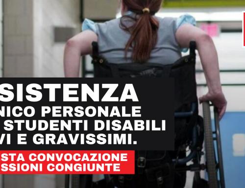 Assistenza igienico personale agli studenti disabili gravi e gravissimi.
