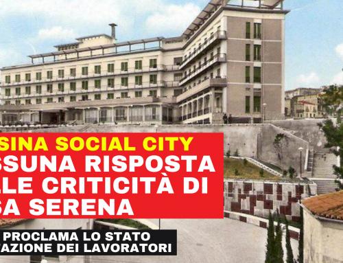 Messina Social City – proclamazione stato di agitazione personale Casa Serena