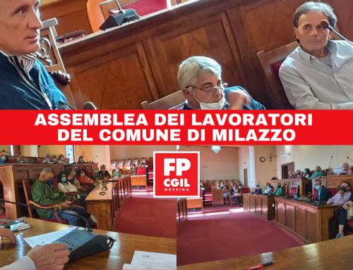 Assemblea dei lavoratori del Comune di Milazzo